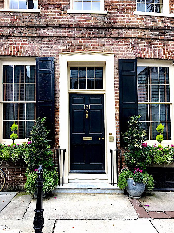Historic Charleston houses