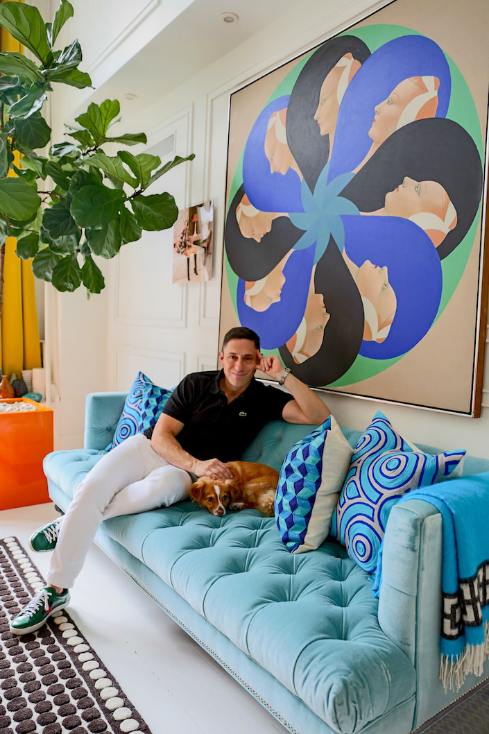 It's a Dog's Life - Jonathan Adler and FoxyLady