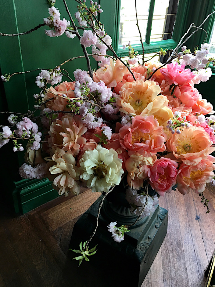 Ken Fulk flowers at Kips Bay