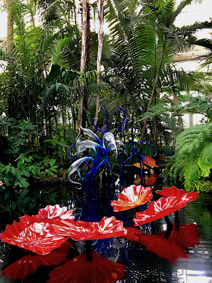 NYBG Chihuly exhibit