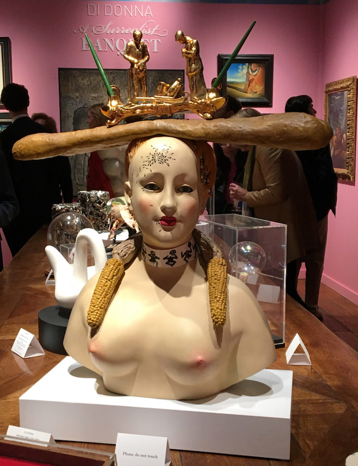 Salvador Dali at Di Donna Galleries at TEFAF New York 2017