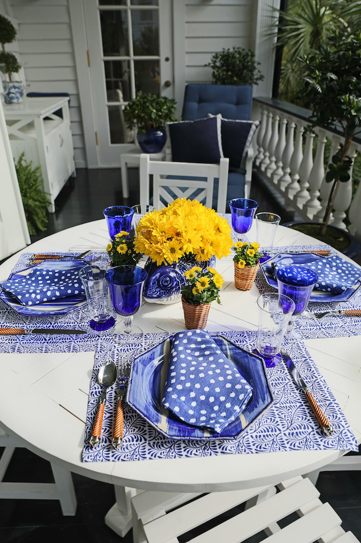 Setting the Table with Carolyne Roehm in Charleston 1-1