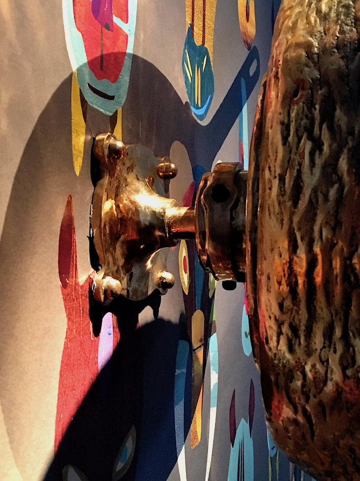 Studio Job frying pan mirror detail