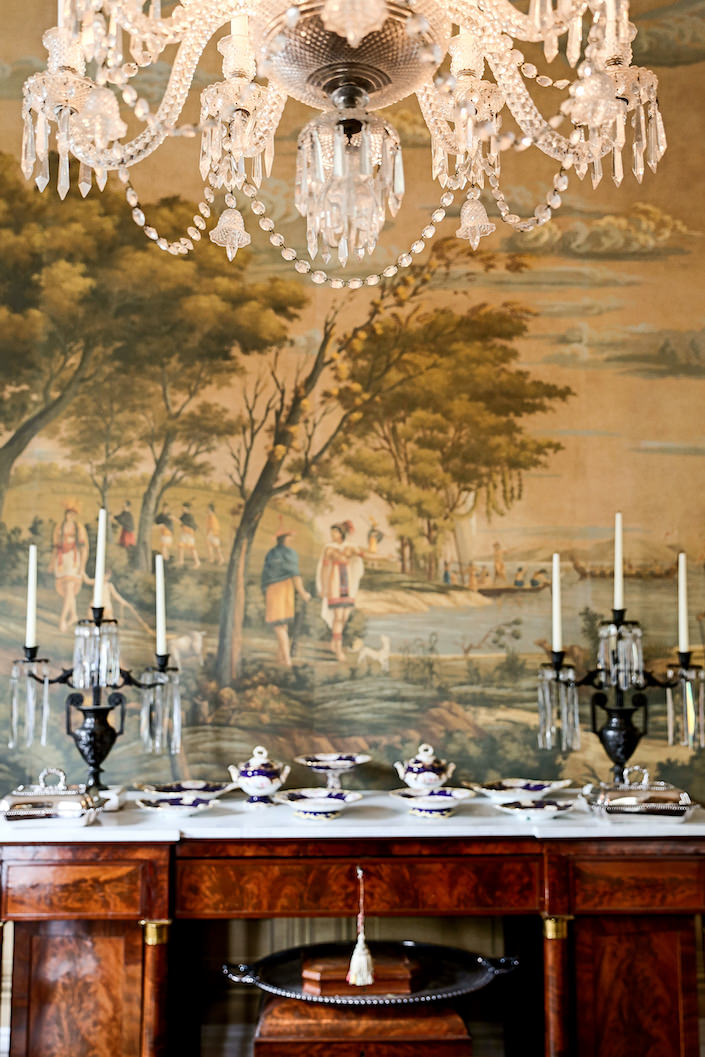 William C Gatewood dining room in Charleston