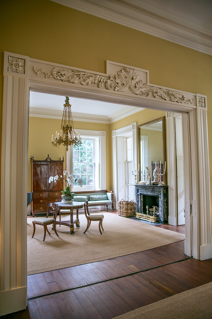 William C Gatewood House In Charleston Parlor Rooms