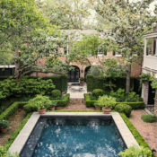 William C Gatewood house pool in Charleston