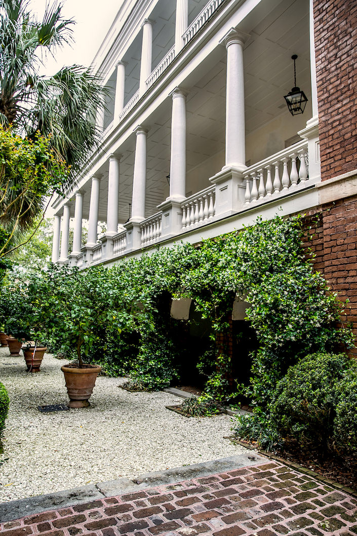 allee at William Gatewood House in Charleston