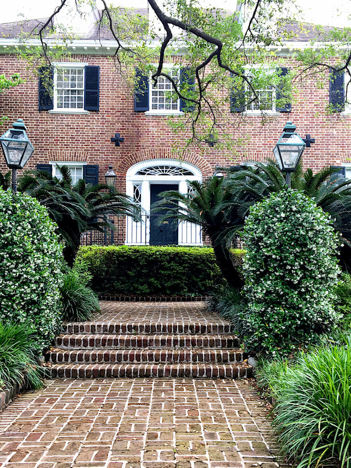 historic Charleston brick house