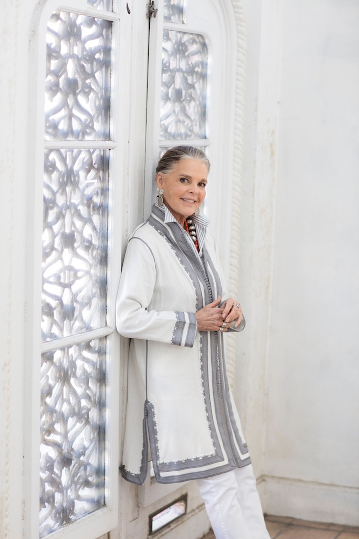 Ali MacGraw for Ibu Moroccan jacket