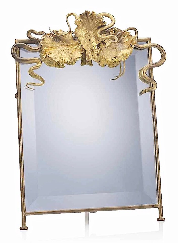 Claude Lalanne table mirror at Christies-1
