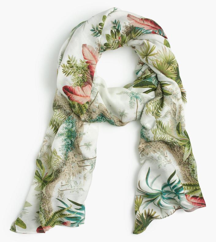 Pierre Frey x J. Crew scarf