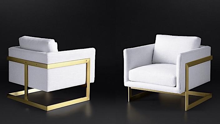 RH Modern Milo Baughman 3426 chair