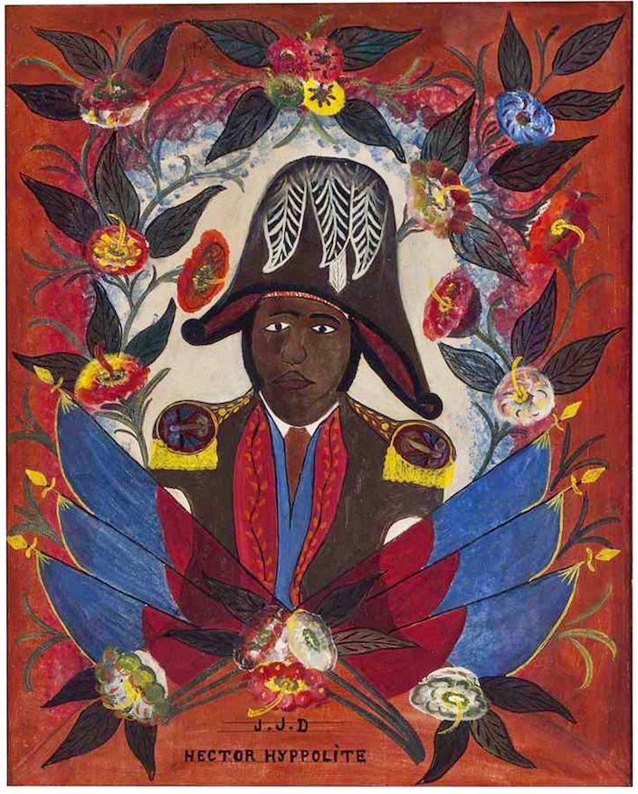 portrait of Jean-Jacques Dessalines by Haitian artist Hector Hyppolite at Christies