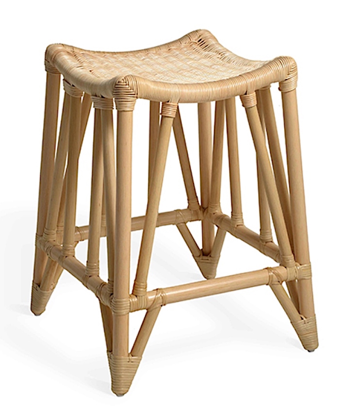 Soane wicker Thebes stool