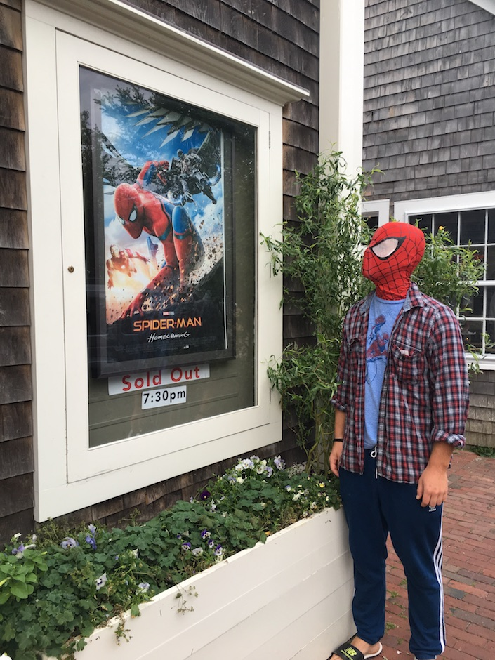 Spider-Man Homecoming at Dreamland Theater Nantucket