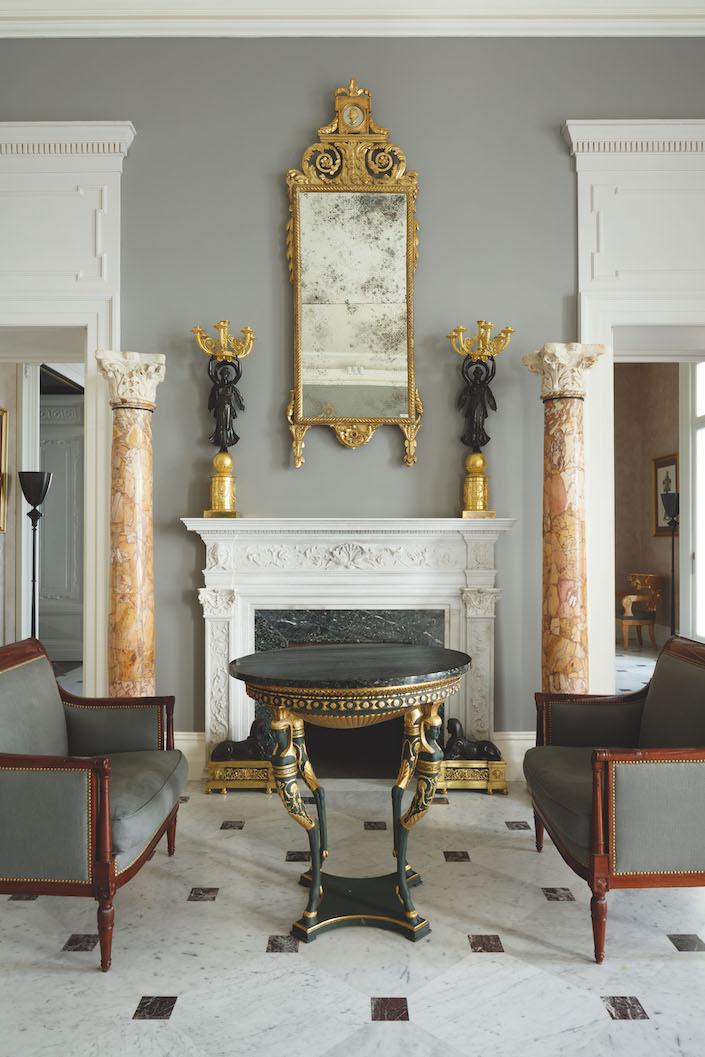 Villa Astor first floor salon