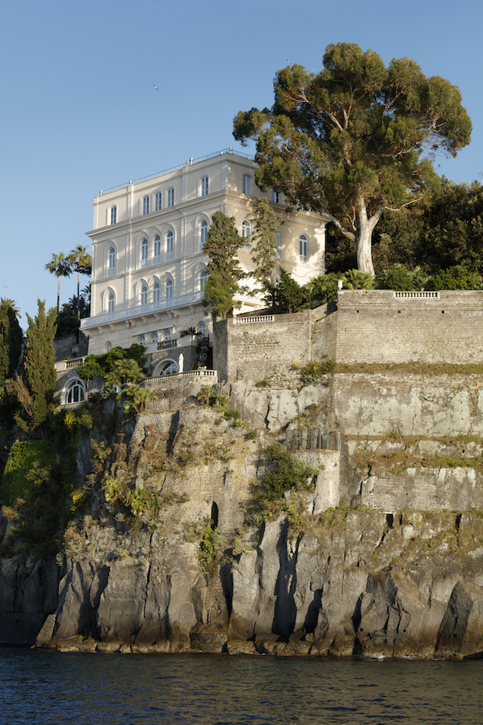 Villa Astor overlooking the Bay of Naples