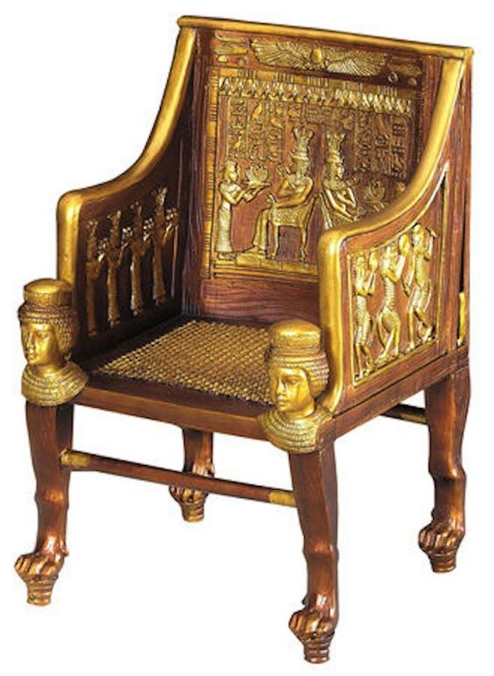 wicker in ancient Egypt throne of Princess Sitamun