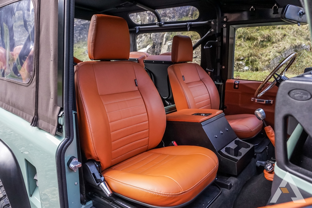 Arkonik Canyon Edition Land Rover Defender interior II