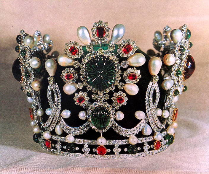 Crown of Empress Farah Diba of Iran by Van Cleef