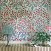 Oscar de la Renta for Lee Jofa Sameera wallpaper cropped via Quintessence-1 copy