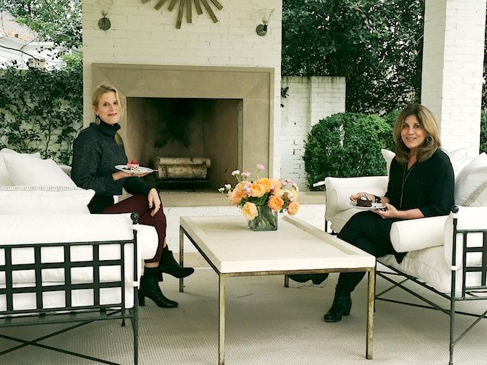 Susanna Salk and Suzanne Kasler 1-1