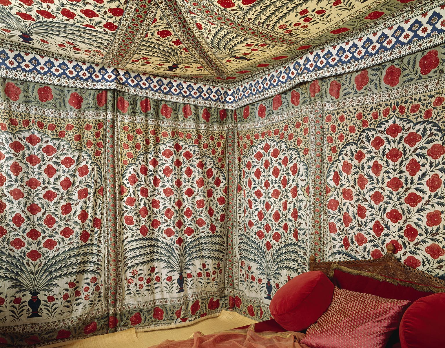 Tent of Tipu Sahib ©Powis Castle and Garden