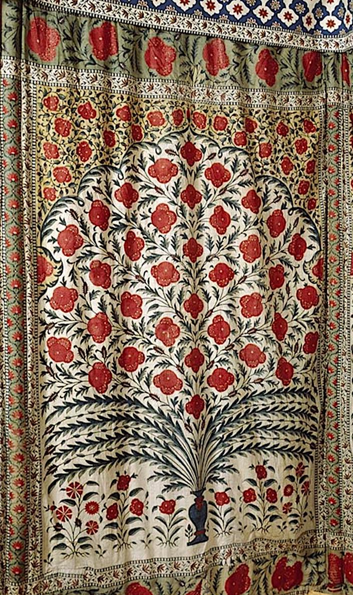 detail of Tipu Sahib tent