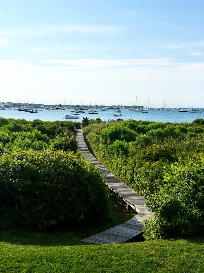 view of Nantucket harbor