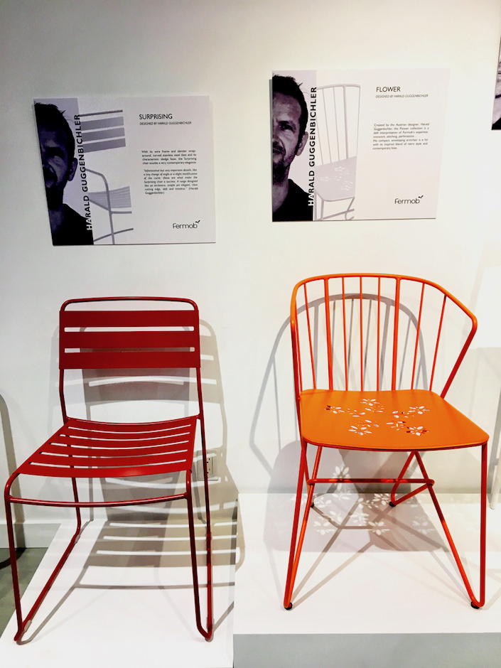 Fermob chairs by Harald Guggenbichler at NYDC