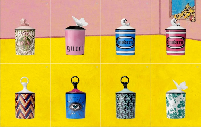 Gucci Déco candles