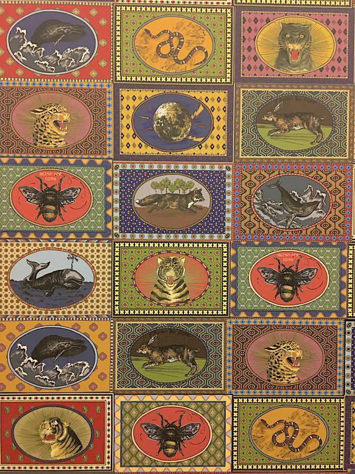 Gucci Décor Tiger Cards wallpaper 1