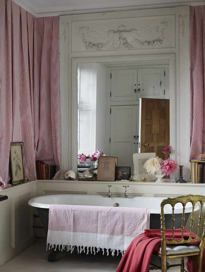 Haute Bohemians Elworthy Master Bath by Miguel Flores-Vianna