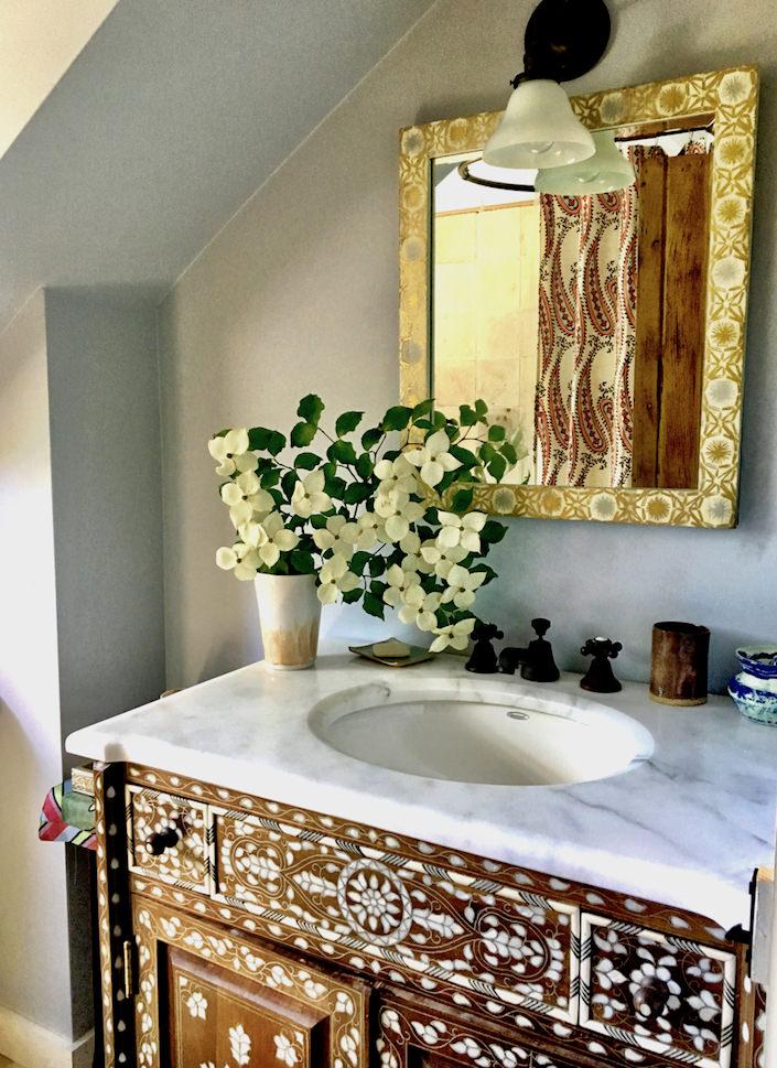 John Robshaw bathroom