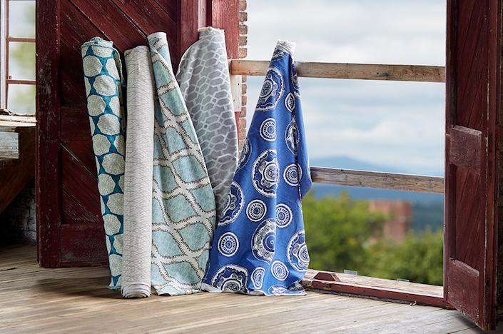 John Robshaw fabrics for Duralee