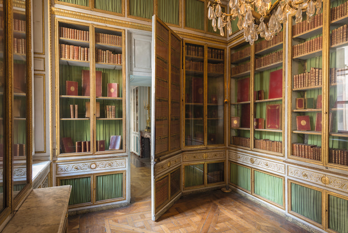 Marie Antoinette library at Versailles