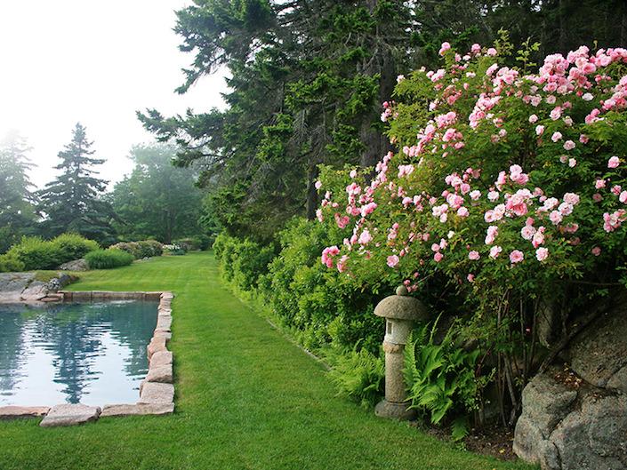 Rockefeller gardens Maine