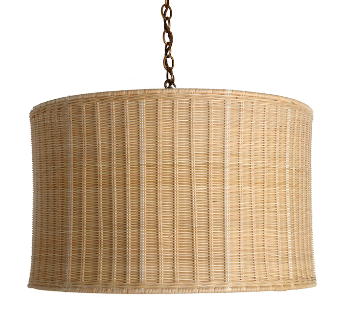 The-Rattan-Drum-Hanging-Light