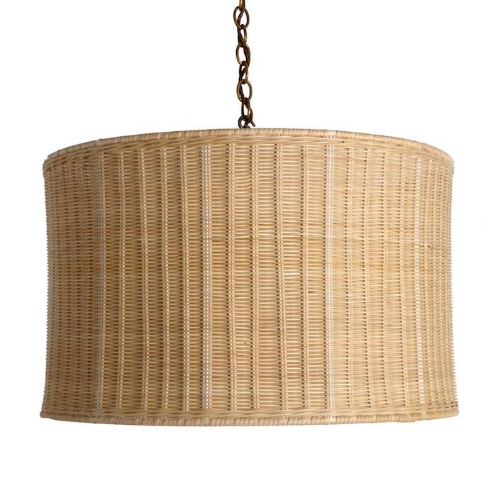 The-Rattan-Drum-Hanging-Light