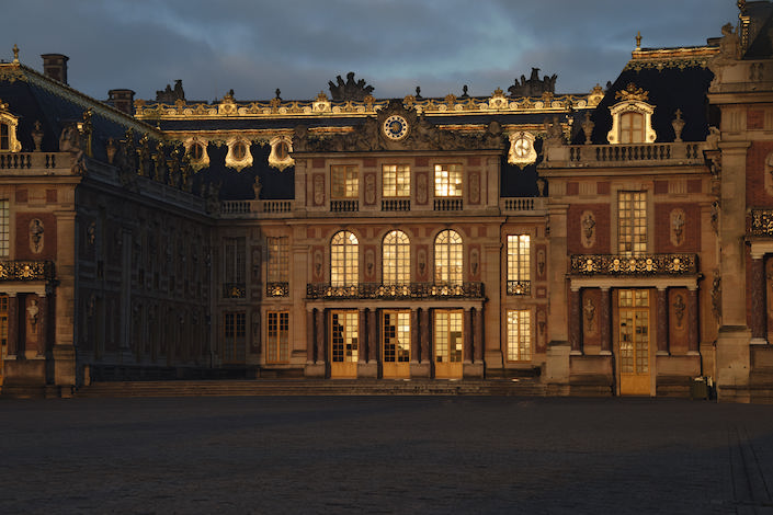 Versailles at night, photograph by Thomas Garnier