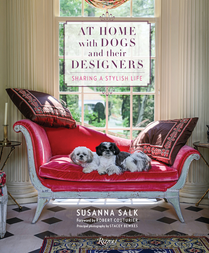 At Home with Dogs and their Designers cover