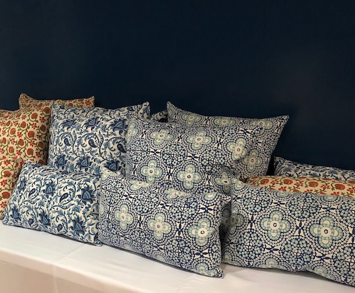 Bunny Williams Home Sample Sale - pillows