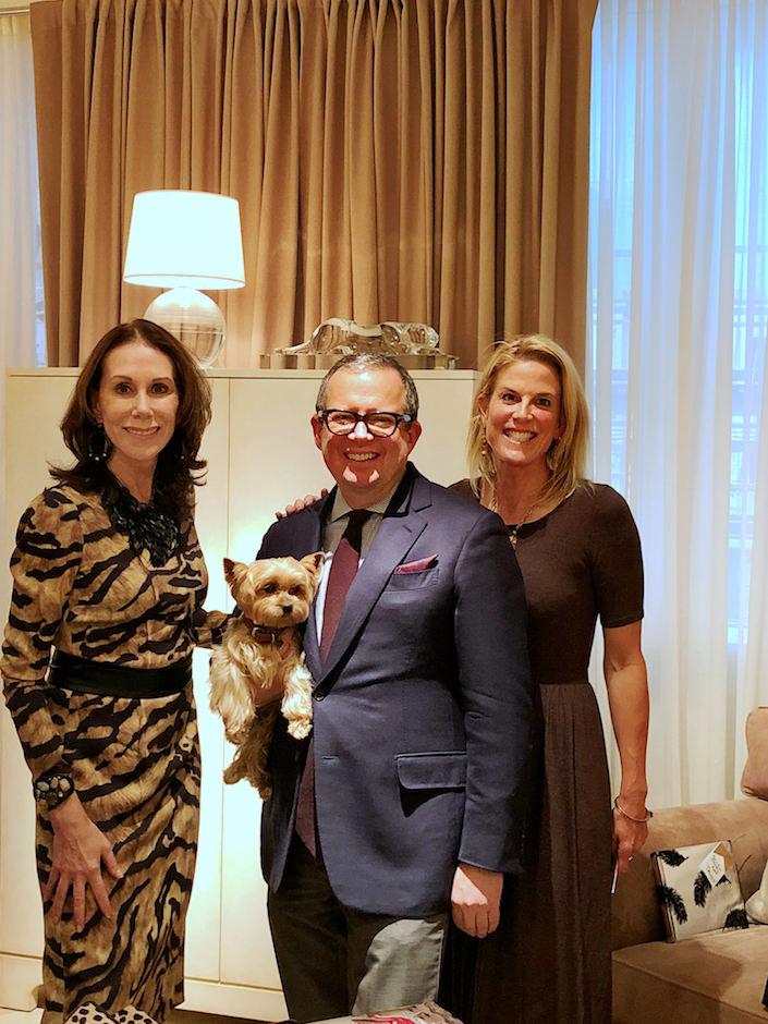 Carolyne Roehm, Alex Papachristidis and Susanna Salk at Ralph Lauren Home book party for At Home with Dogs and Their Designers-1