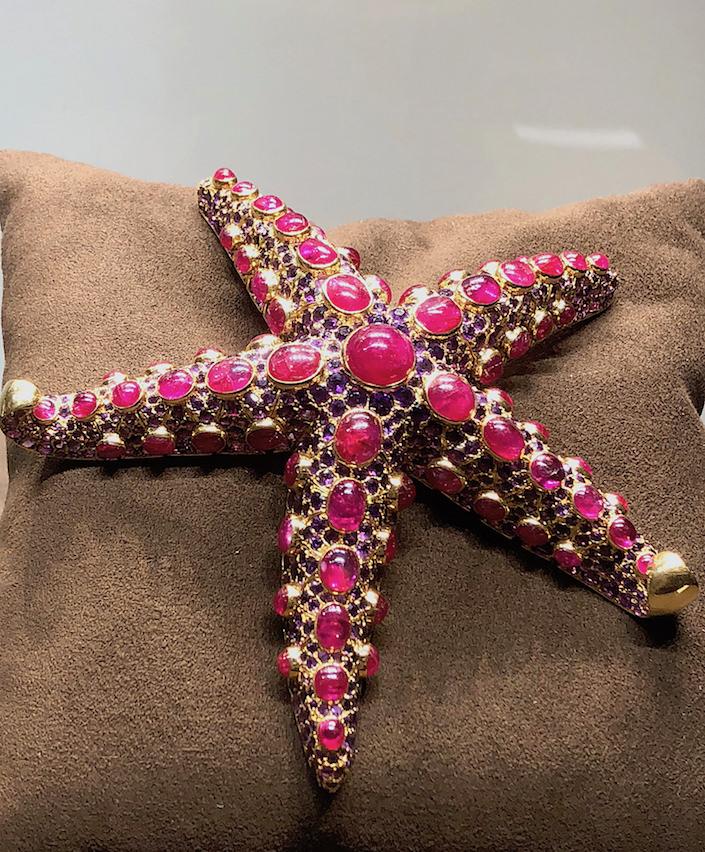 Claudette Colbert Boivin Starfish Brooch At Siegelson Tefaf New York Fall