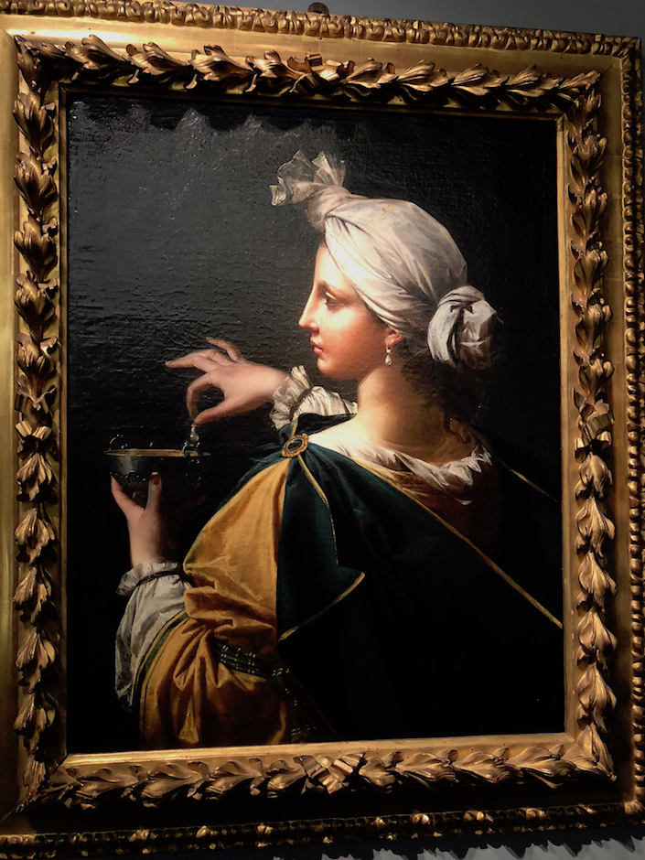 Donato Creti's portrait at Moretti at TEFAF New York Fall 2017