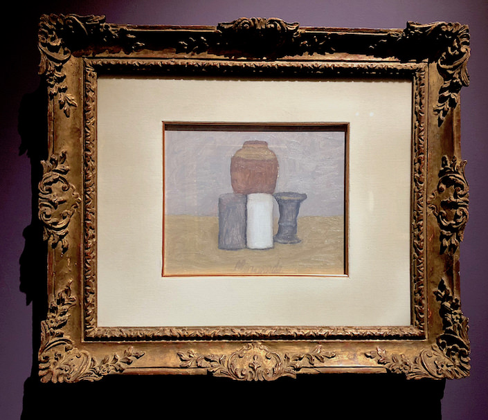 Giorgio Morandi at Robilant + Voena at TEFAF New York Fall