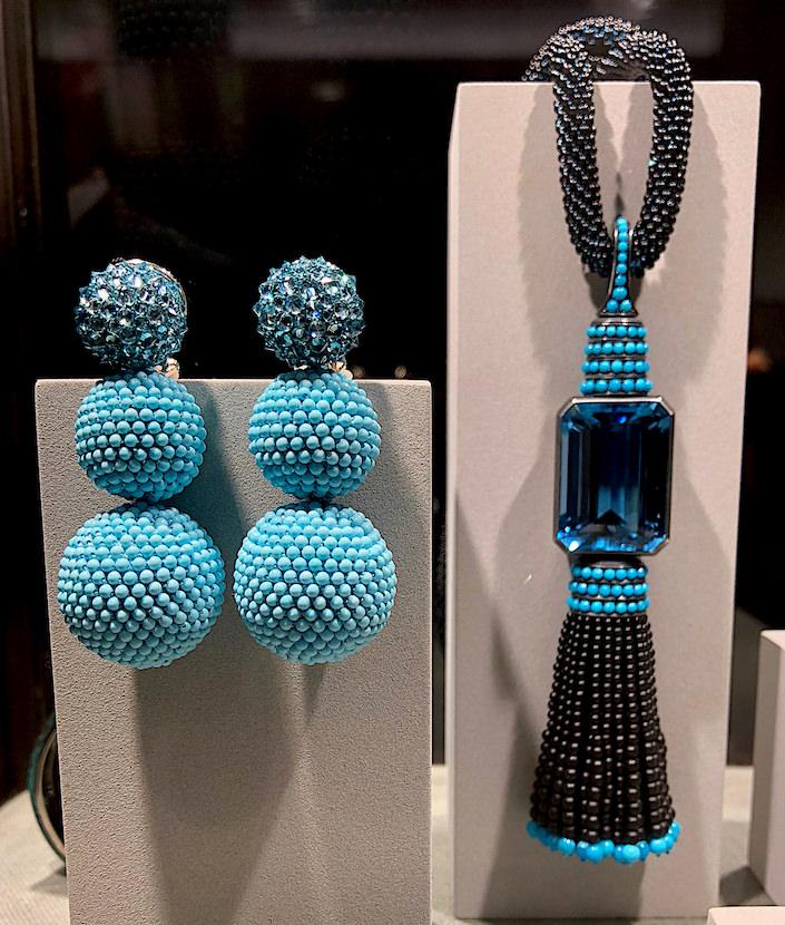Hemmerle turquoise and aquamarine at TEFAF New York Fall