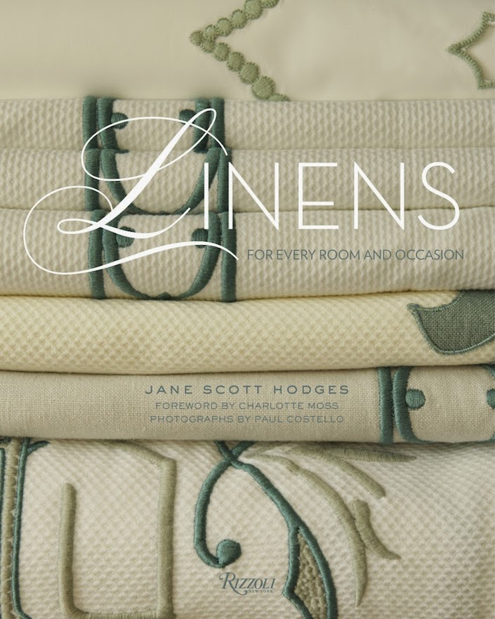 Jane Scott Hodges Linens book