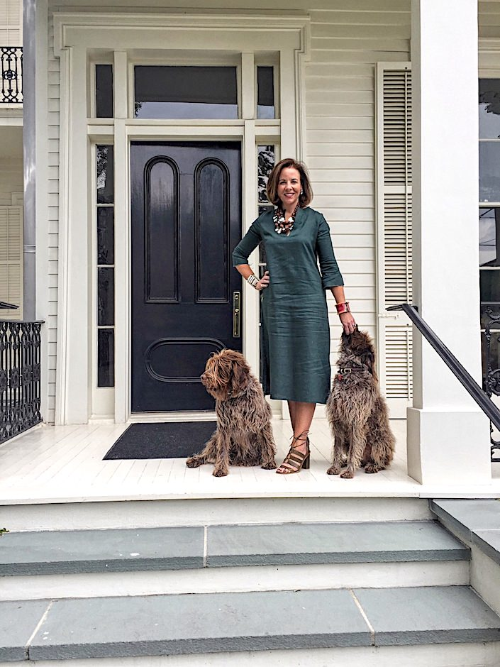 Jane Scott Hodges at her New Orleans home-1