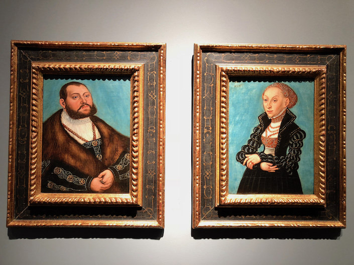 Lucas Cranach the Younger at de Jonckheere at TEFAF New York Fall